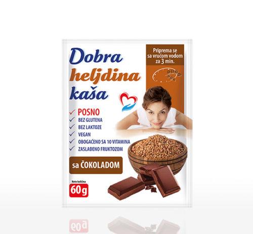 Dobra heljdina kaša čokolada 60g